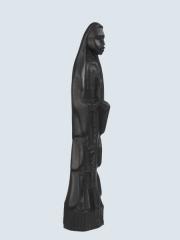 """Африканская декоративная статуэтка """"Дева Мария"""" из черного дерева"""