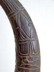 Африканский фетиш рог животного народа Bamoun (Камерун)