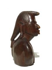 Купить бюст африканского воина из дерева высотой 25 см