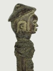 Статуэтка-фетиш народности Bakongo - женщина обмотанная веревкой