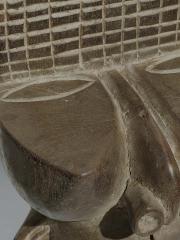 Шлем наголовник Night Society Mask. Страна происхождения Камерун. Материал дерево.
