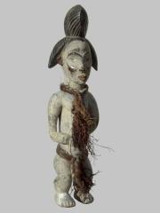 Ритуальная африканская статуэтка народности Punu