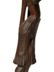 """Статуэтка африканской женщины """"Надо подумать"""", Кения"""