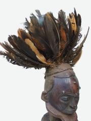 Африканская статуэтка фетиш народности Bateke на одной ноге 1600