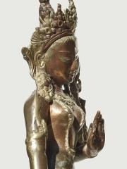 Статуэтка из бронзы богини Парвати