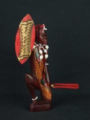 Фигурка воина народности Масая. Страна происхождения - Кения