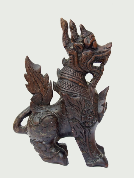 Китайская статуэтка охранник собака лев Foo Dog Guard Lion Beast