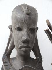 Антикварные статуэтки пары масаев из Африки