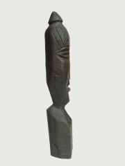 Фигура домового из дерева народности Вепсы