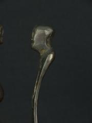 Пара бронзовых африканских статуэток «Матриархат». Страна происхождения - Кения.
