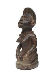 Статуэтка женщины Йомбе на коленях