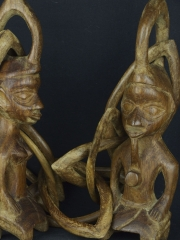 Статуэтка «Пара Йоруба» [Нигерия]
