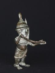 Бенинская бронза. Статуэтка музыканта