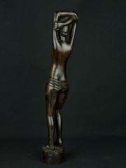 """Статуэтка африканской девушки """"На рассвете"""" из эбенового дерева 1425-2"""