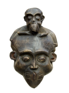 Маска Bulu Monkey [Камерун]