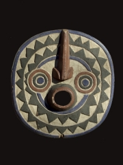 Африканская маска народности BWA Sun,Буркина-Фасо