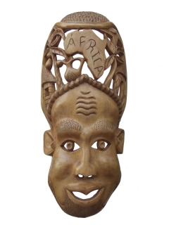 Маска «Белая Африка», 62 см
