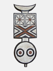 Африканская маска народности BWA Plank,Буркина-Фасо