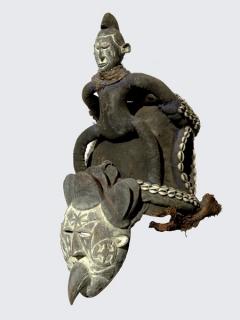 Маска Igbo [Нигерия], 60 см