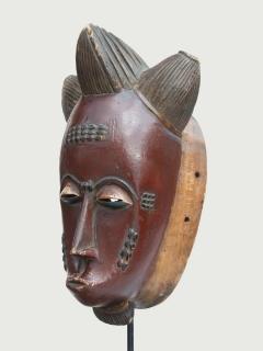 Маска Baule Mblo [Кот-д'Ивуар], 34 см