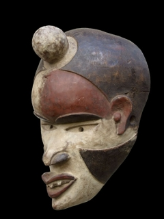 Маска Bakongo Villi [Конго]