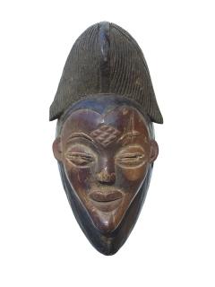 Маска Punu [Габон], 32 см