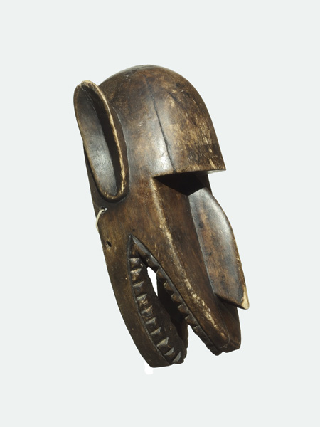 Зооморфная африканская маска народности Bamana. Купить с доставкой