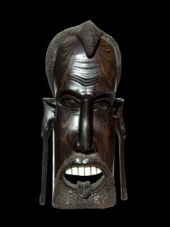 """Купить африканскую маску из эбенового дерева """"Милый друг"""""""