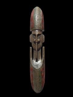 Купить деревянную маску из Папуа Новой Гвинеи