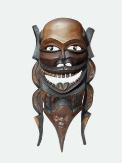 """Маска """"Альтер Эго"""" [Мозамбик], 50 см"""