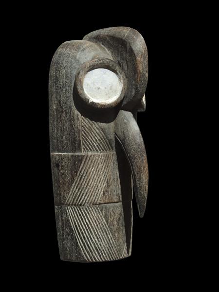Купить африканскую маску в виде птицы из дерева народности Bembe