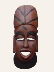 """Купить африканскую маску и керамики """"Дух пустыни"""""""