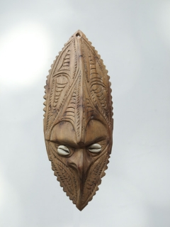 Маска Sepik [Папуа Новая Гвинея], 24 см