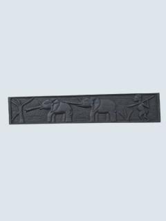 Панно «Охота на слонов» [Ангола], 45 см