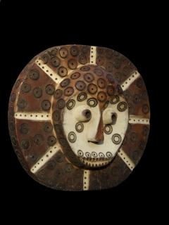 Ритуальный щит Lega [Конго], 26 см