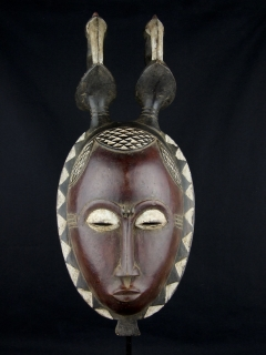 Маска Baule [Кот-д'Ивуар]