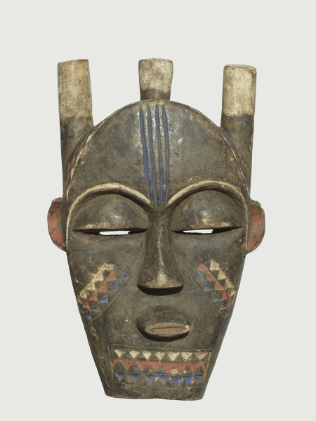 Ритуальная маска народности Kuba