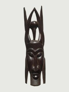 Маска «Змееборец» [Конго], 58 см