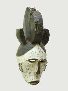 Маска Igbo Agbogho Mmwo [Нигерия]
