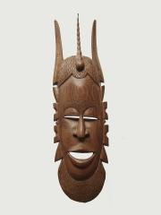 """Настенная декоративная деревянная африканская маска """"Союзник"""""""