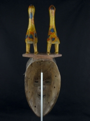 Африканская маска народности Guro