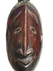 Маска народности Djimini.Страна происхождения -Кот-д'Ивуар.