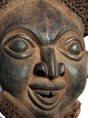 Африканская маска Bamileke Bamun