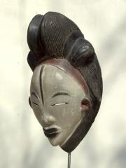 Оригинальная африканская маска народности Punu