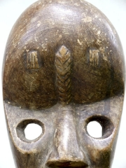 Африканская маска Dan Gunyege [Кот-д'Ивуар], 25 см