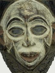 Купить ритуальную маску народности Yombe