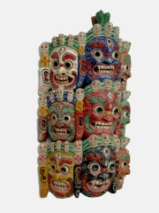 Монгольская ритуальная маска Сита Махакала