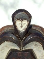 Африканская маска Kwele из Западной Африки