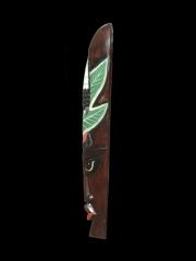 """Настенная маска из дерева """"Тукан"""""""