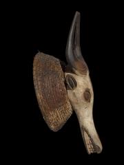 Африканская маска буйвола Babanki, страна происхождения Камерун